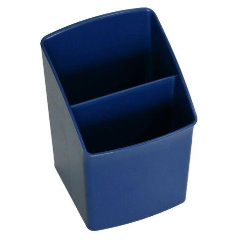 Esselte Nouveau Pencil Cup Directors Blue