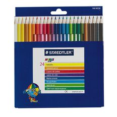 Staedtler Coloured Pencils Full 24 Pack