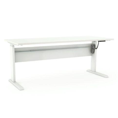 Cubit Height Adjustable Electric Desk 1200 White