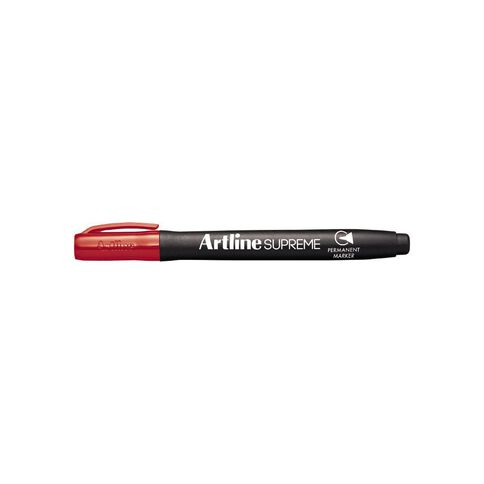 Artline Supreme Permanent Marker Red