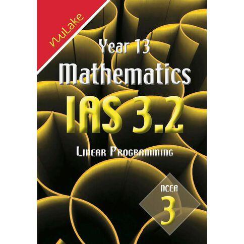 Nulake Year 13 Mathematics Ias 3.2 Linerar Programming