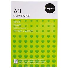 Impact Copy Paper 80gsm 500 Pack White A3