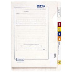 Filecorp Tab-Top Wallet File 2514 40mm Gusset White