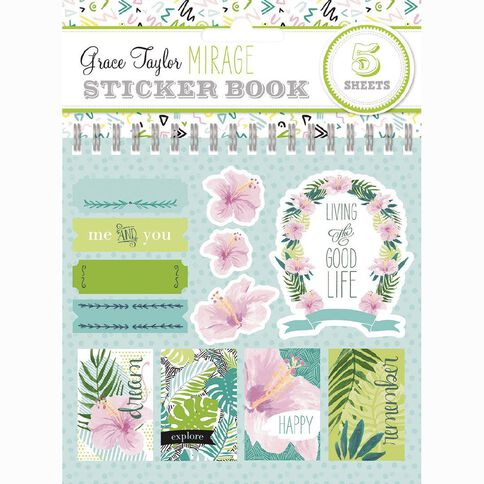 Grace Taylor Mirage Sticker Flip Book