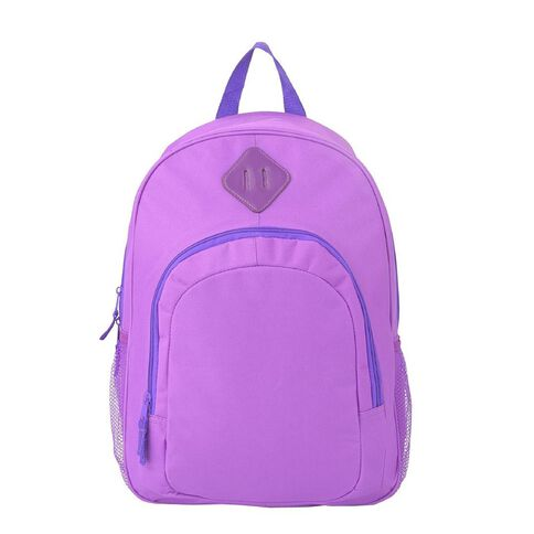 Classic Backpack With Laptop Pocket Purple