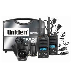 Uniden Uh850S-2Tp Twin Tradies Pack Radio Black