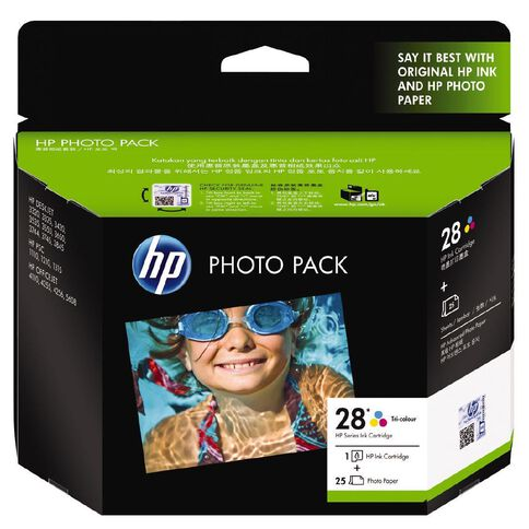 HP Ink Cartridge 28 Photo Value Pack Multi-Coloured