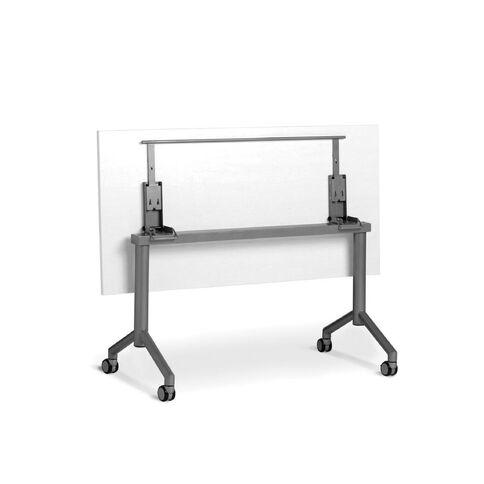 Velocity 1800 x 900 Flip Table White/Silver