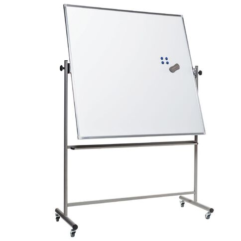 Boyd Visuals Lacquered Mobile Whiteboard 1200 x 1500mm White