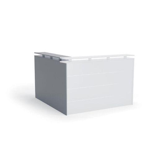 Cubit Receiption Counter Return Silver