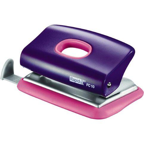 Rapid Punch 2 Hole Fc10 Funky Purple/Pink 10 Sheet Pink