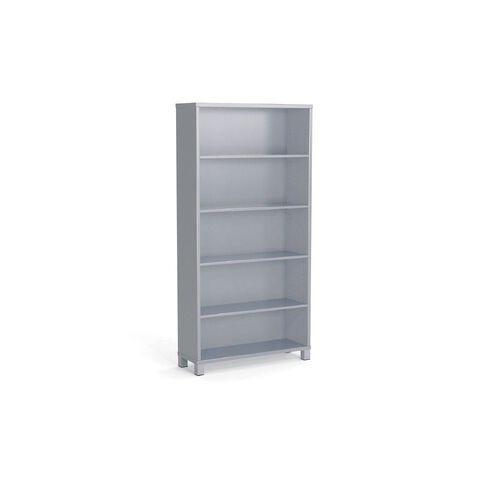 Cubit 1800 Bookcase Silver