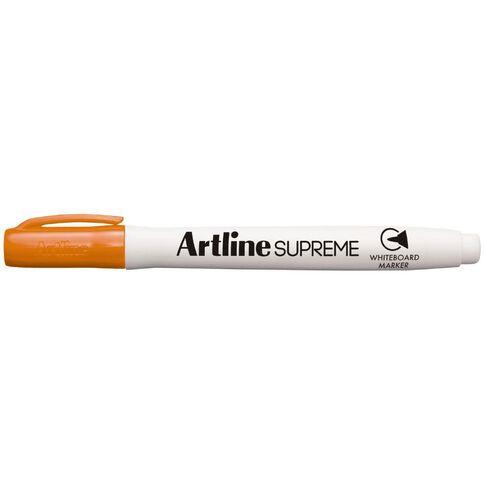 Artline Supreme Whiteboard Marker Orange