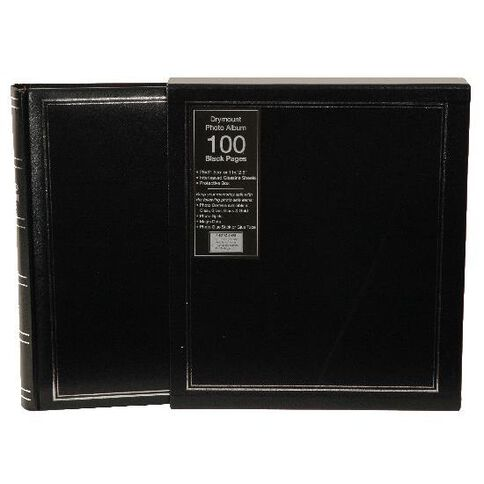 Drymount 100 Page Photo Album