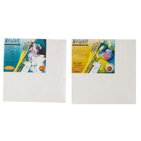 Jasart Stretch Canvas 3/4 8 x 8