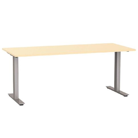 Agile 1800 Desk Nordic Maple/Silver