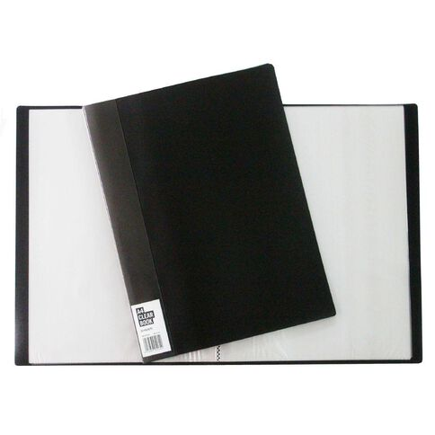 Clearbook 20 Leaf Black A4