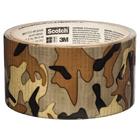 Scotch Duct Tape 48mm x 9.14m Camo