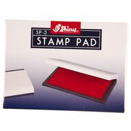 Shiny Stamp Pad Red Size 3 110 x 70mm Red