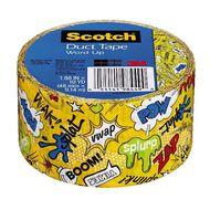 Scotch Duct Craft Tape 48mm x 9.14m Word Up