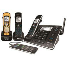 Uniden Xdect8355+2Wp Cordless Phone Answer Machine Triple Black