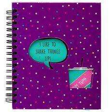 Kookie Shake Notebook Purple