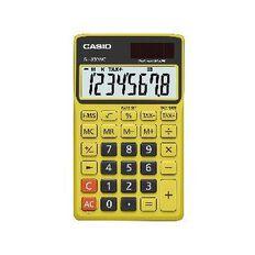 Handheld Calculator SL300NCBYW Yellow