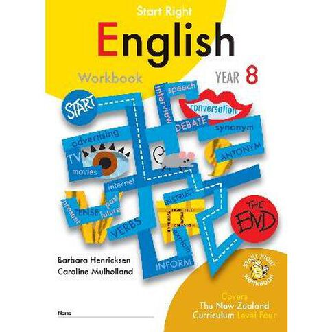 SR Year 8 English Workbook