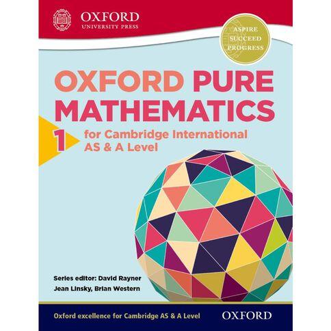 As/A Year 12/13 Pure Mathematics 1