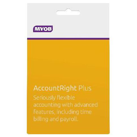 Myob Accountright Plus Activation Card