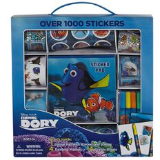 Disney Finding Dory Sticker Box with Handle
