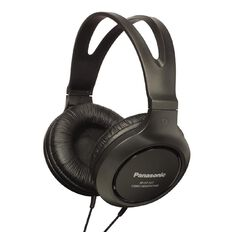 Panasonic Full Size Av Style Headphone Black