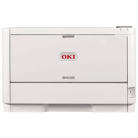 OKI B432Dn Mono Laser Printer White