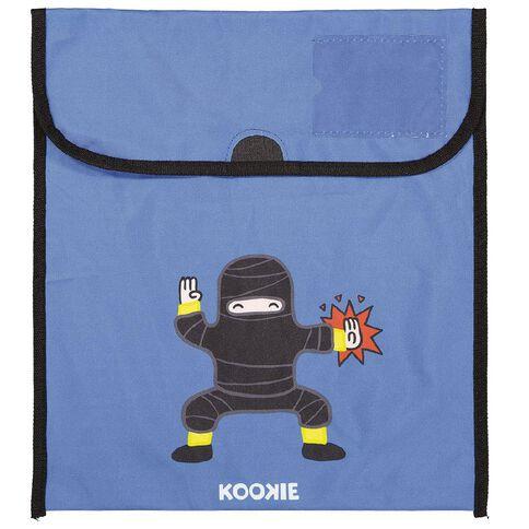 Kookie Ninja Homework Bag Blue