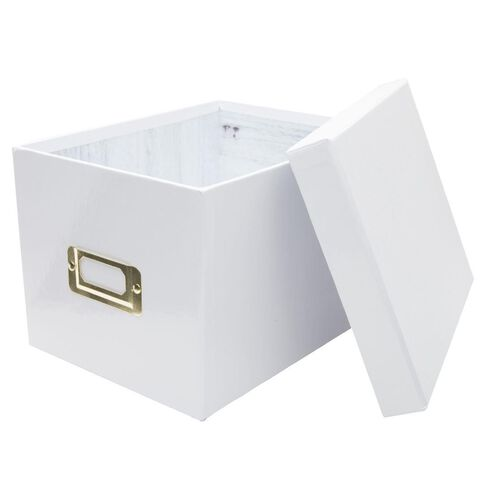 Uniti Diamond Storage Box White