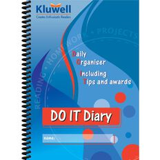 Kluwell Do It Student Diary Multi-Coloured