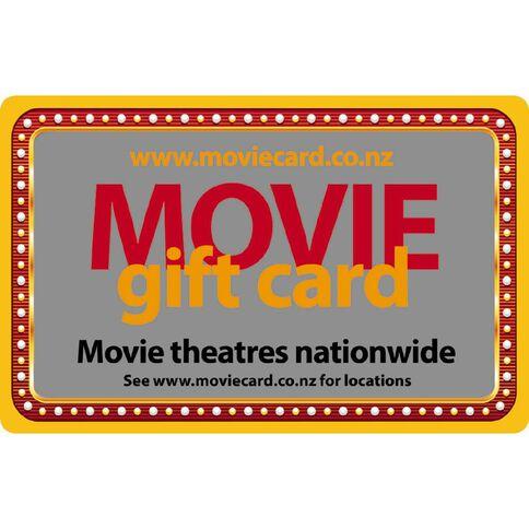 Movie Gift Card $30