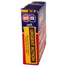Quik Stik Labels Urgent Action Permanent 125 Pack Orange