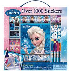 Disney Frozen Sticker Box with Handle