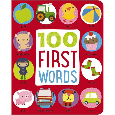 First 100 Words Padded Board Book