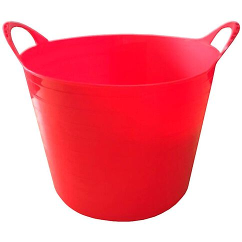 Flexi Tub 40L Dark Red