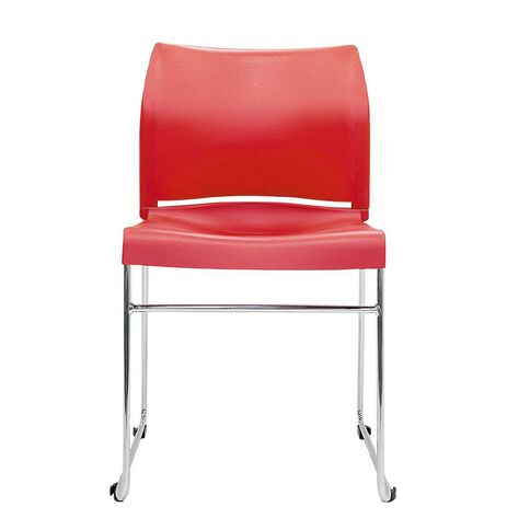 Buro Seating Envy Stacker Chair Red