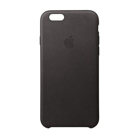 Apple Iphone 6 Plus/6S Plus Leather Case Black Black