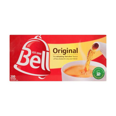 Bell Original Tea Bags 200 Pack