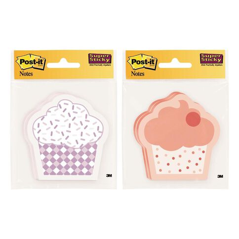 Post-It Cupcake Notes 2 Pads