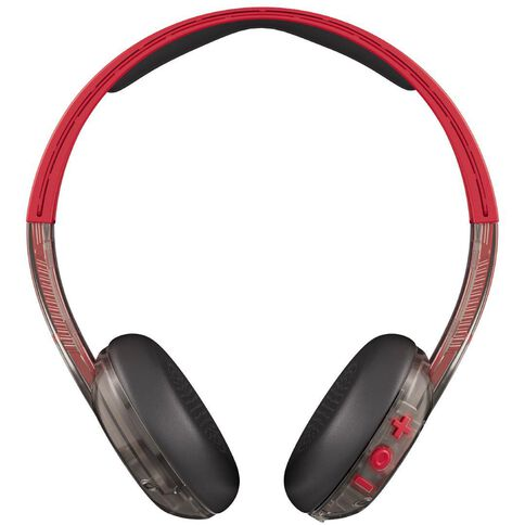 Skullcandy Uproar Wireless On Ear Headphones Red/Black