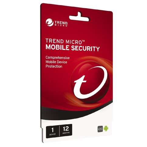 Trend Micro Mobile Security 1 Device 12 Month