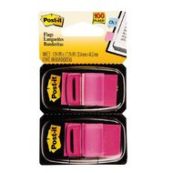 Post-It Flags 2 Pack Bright Pink