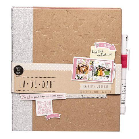 La De Dah Hopes and Dreams Journal and Glue Pen