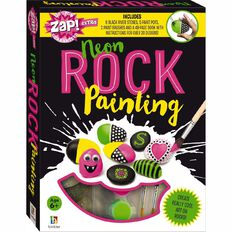 Zap Extra Neon Rock Painting
